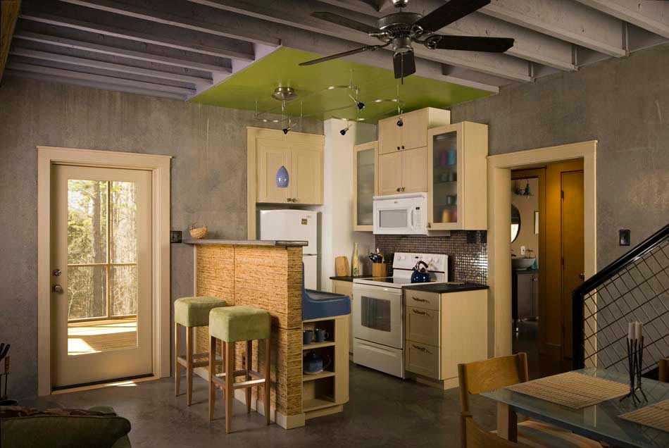 Decoraciones Rusticas Para Casas Peque?as ~   int?ressant de cuisine pratique & coin repas de tous les jours