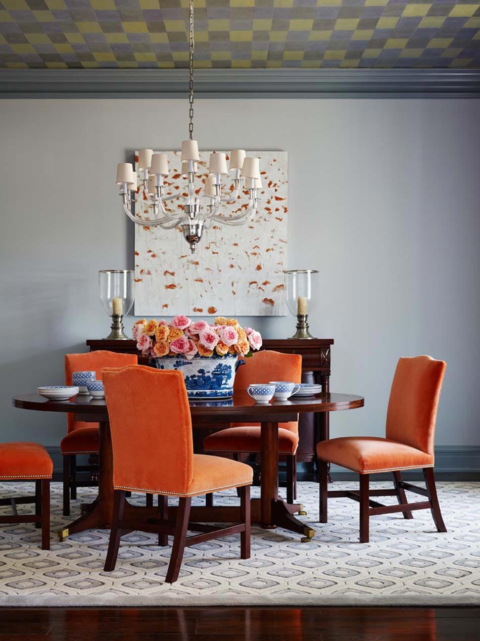 Chaises de salle manger en velours une invitation for Chaise salle a manger couleur ivoire
