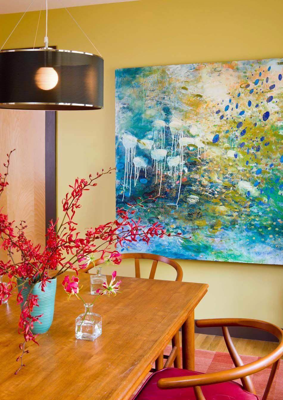 Le tableau d co embellit les murs et transforme l ambiance for Interieur artistique