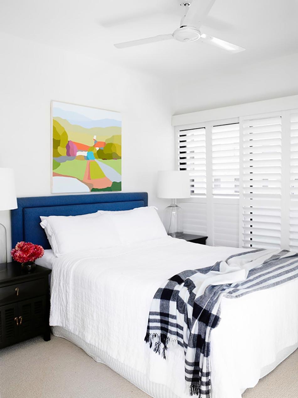 am nager une petite chambre d amis la maison design feria. Black Bedroom Furniture Sets. Home Design Ideas