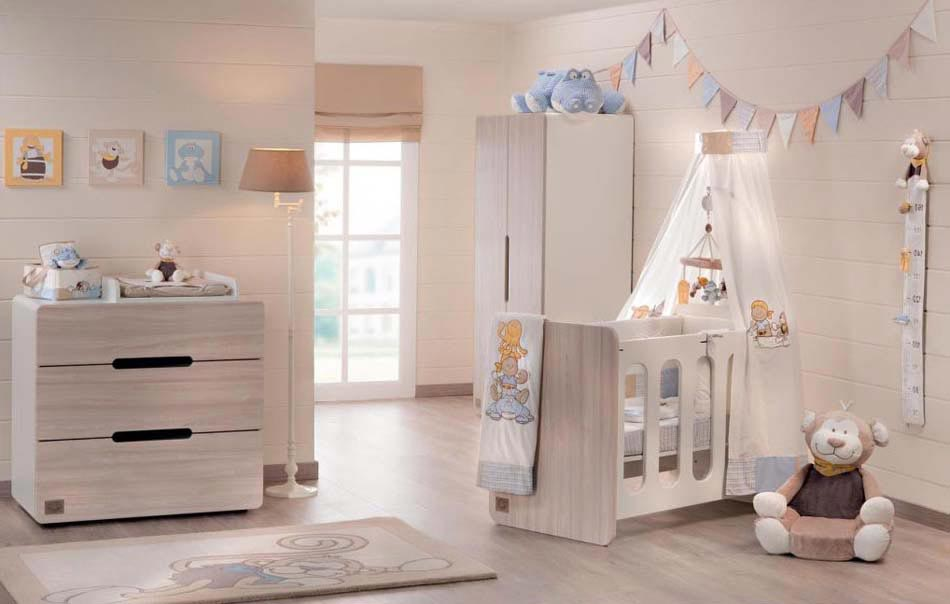 idee deco chambre bebe en bois avec des. Black Bedroom Furniture Sets. Home Design Ideas