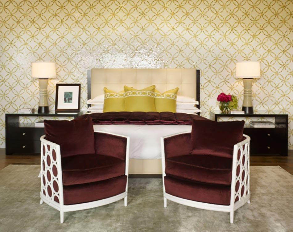 D coration sur les murs pour une chambre tr s design - Deco mur chambre ...
