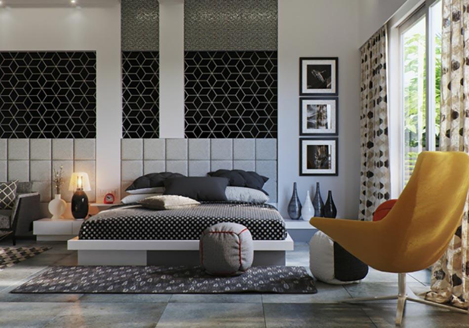 50 nuances de gris pour une maison design design feria for Decoration chambre principale