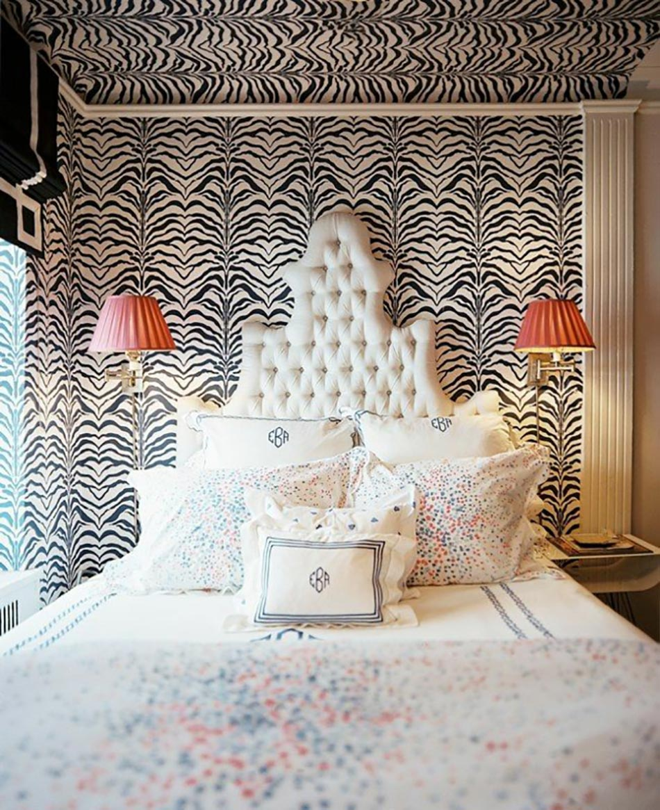 D co chambre originale aux imprim s z bre design feria for Deco murale zebre