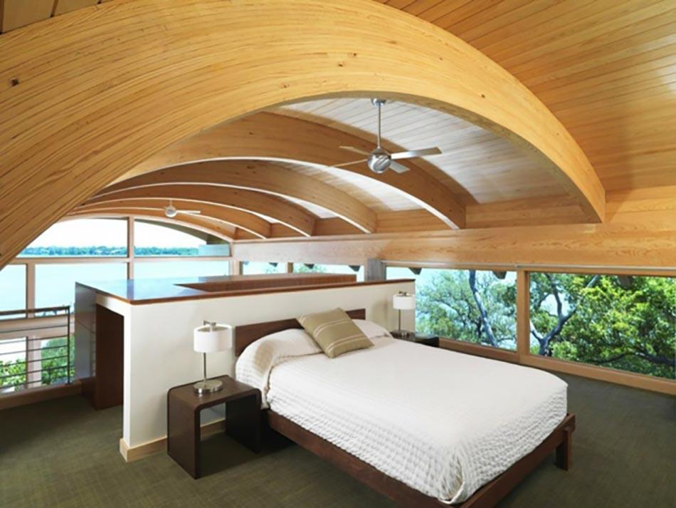 Super Aménagement des combles pour une jolie chambre sous toit | Design  UB32