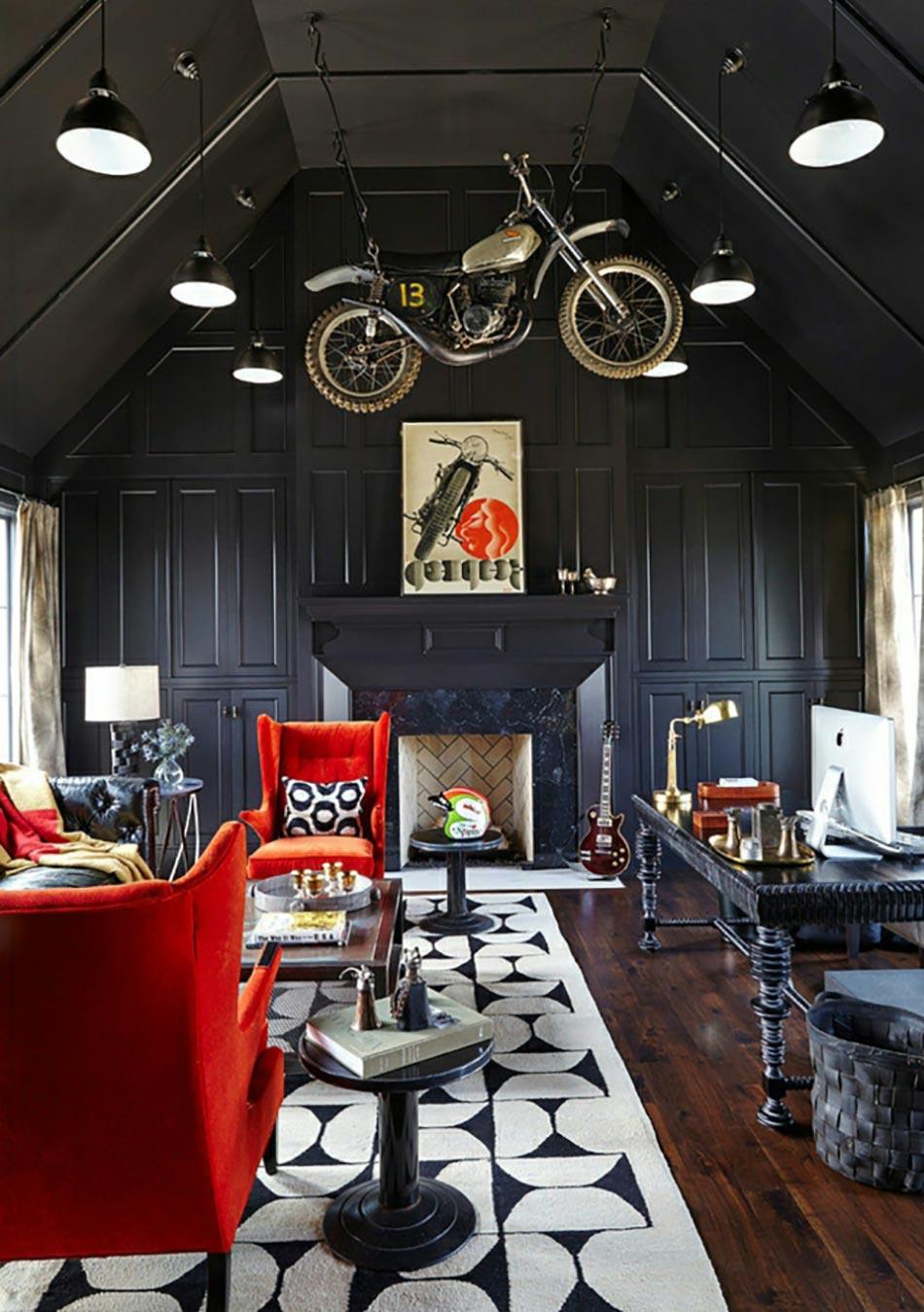 Architecture intérieure aux influences très éclectique  Design ...