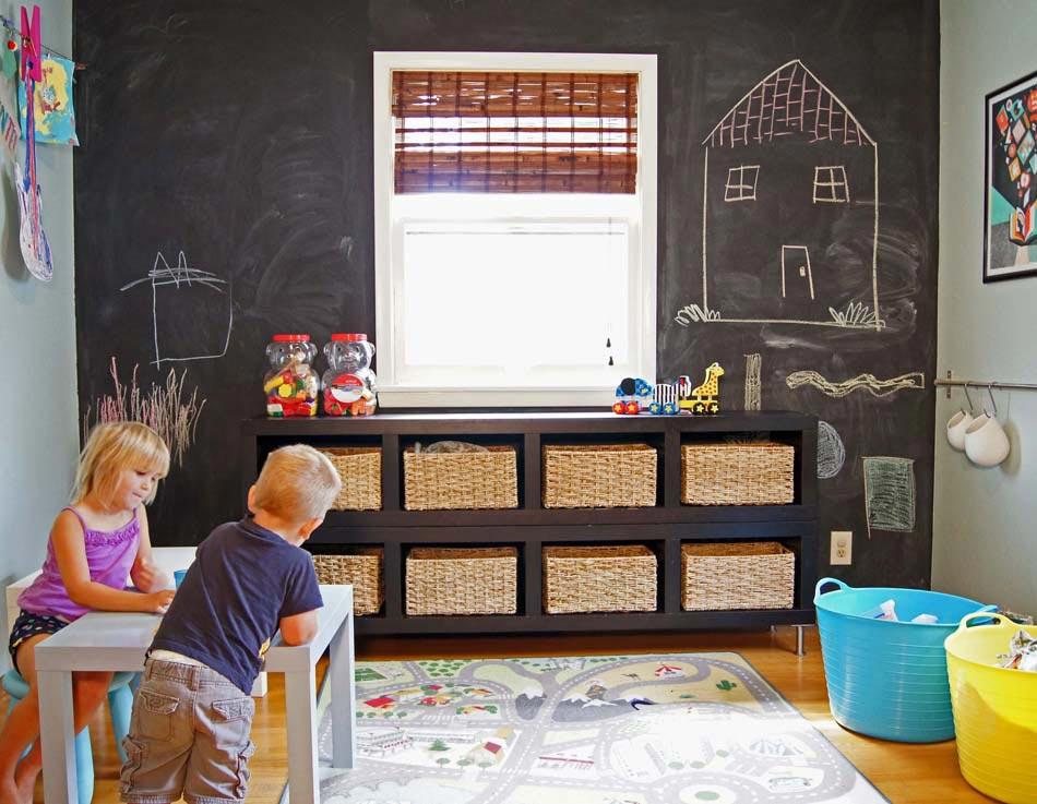 les grandes panires en tant que rangement des jouets bien pratique grands rangements chambre enfants jouets - Rangement Chambre D Enfant