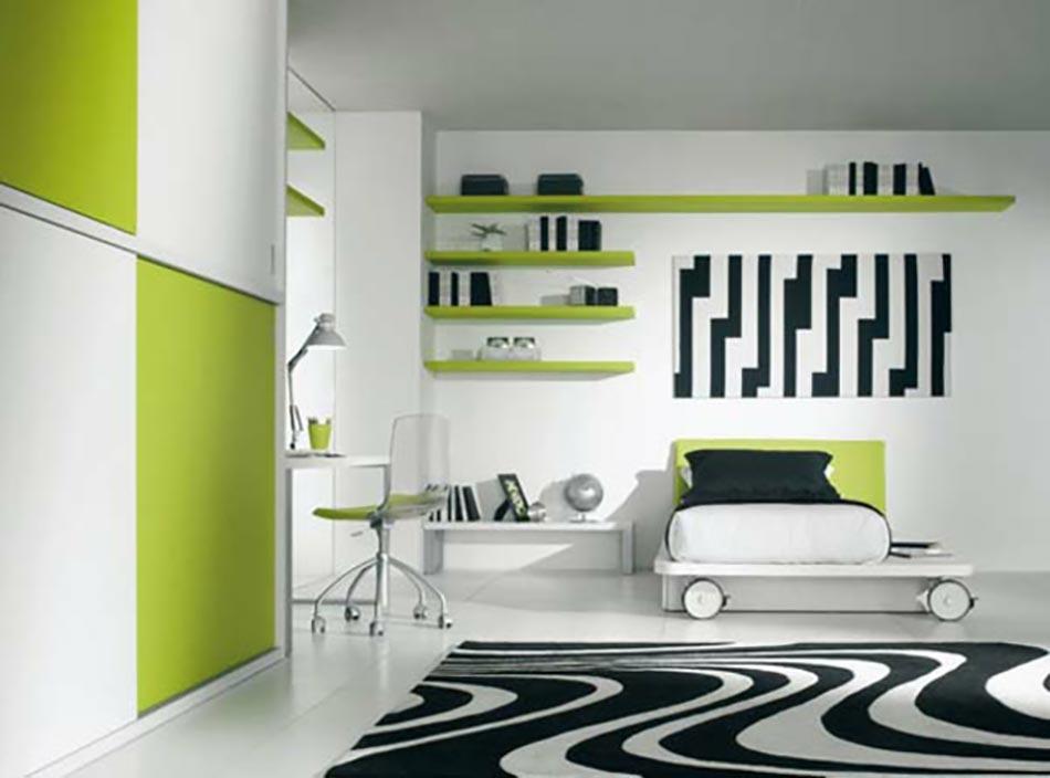 D co chambre originale aux imprim s z bre design feria for Deco chambre contemporaine