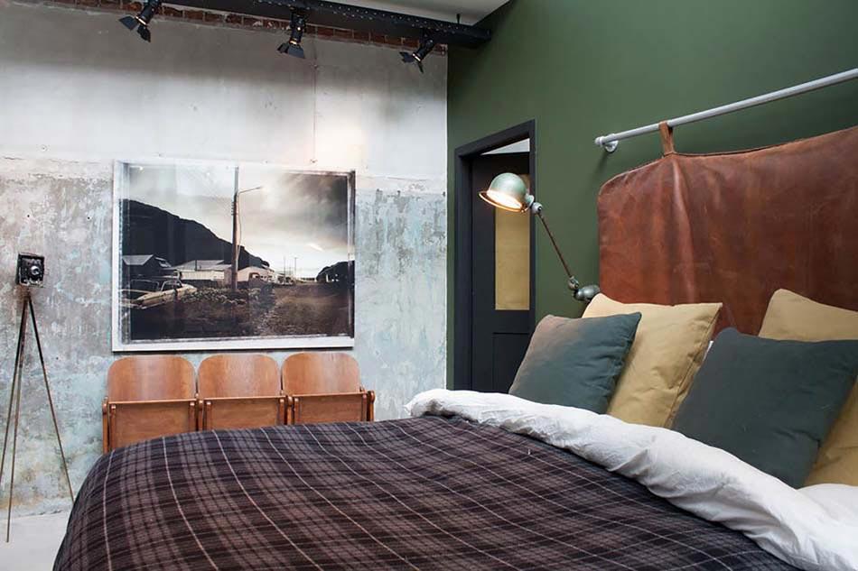 D co chambre coucher au design cr atif l gant et for Decoration chambre homme