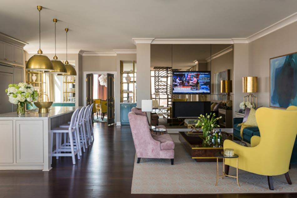 Deco maison de toute fraicheur avec des fleurs design feria for Interieur maison moderne cuisine