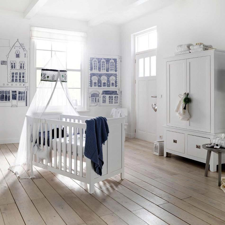 Déco chambre bébé : le voilage et le ciel de lit magiques | Design ...