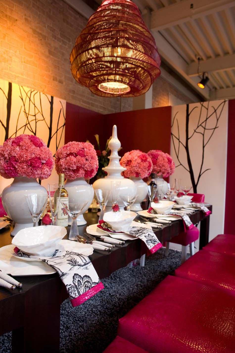 Déco Table Pour Recevoir à La Maison Fortement Influencé Par La Culture  Asiatique