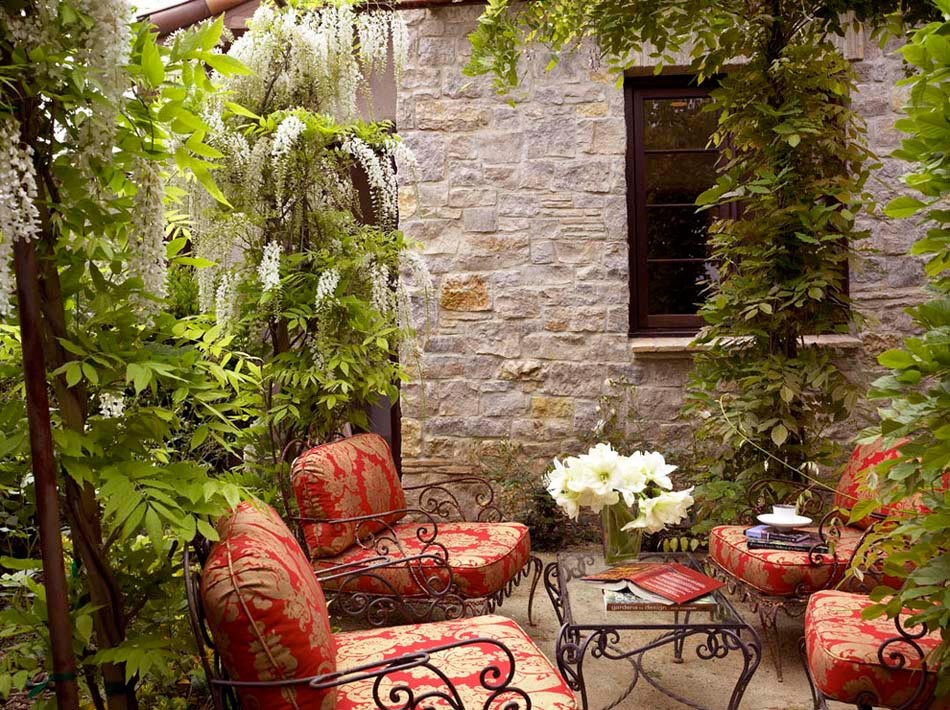 Am nagement terrasse de styles et inspirations diff rents - Les jardins au bout du monde outdoor furniture ...