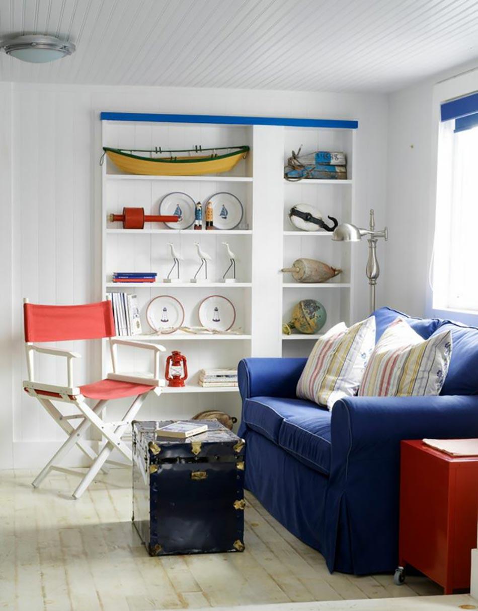 Maisons de vacances la d coration marine cr ative for Accessoires decoratifs maison