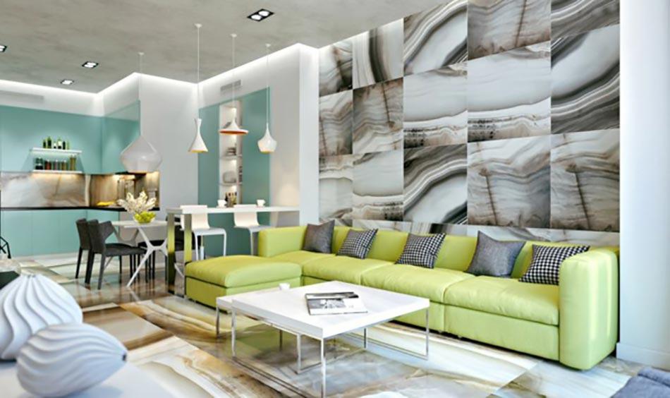 La d coration maison en couleurs et l espace apprivoiser for Deco piece de vie