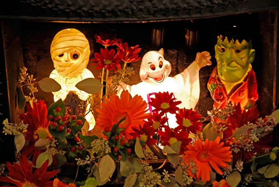 Halloween Et Des Figurines De Déco Adorables