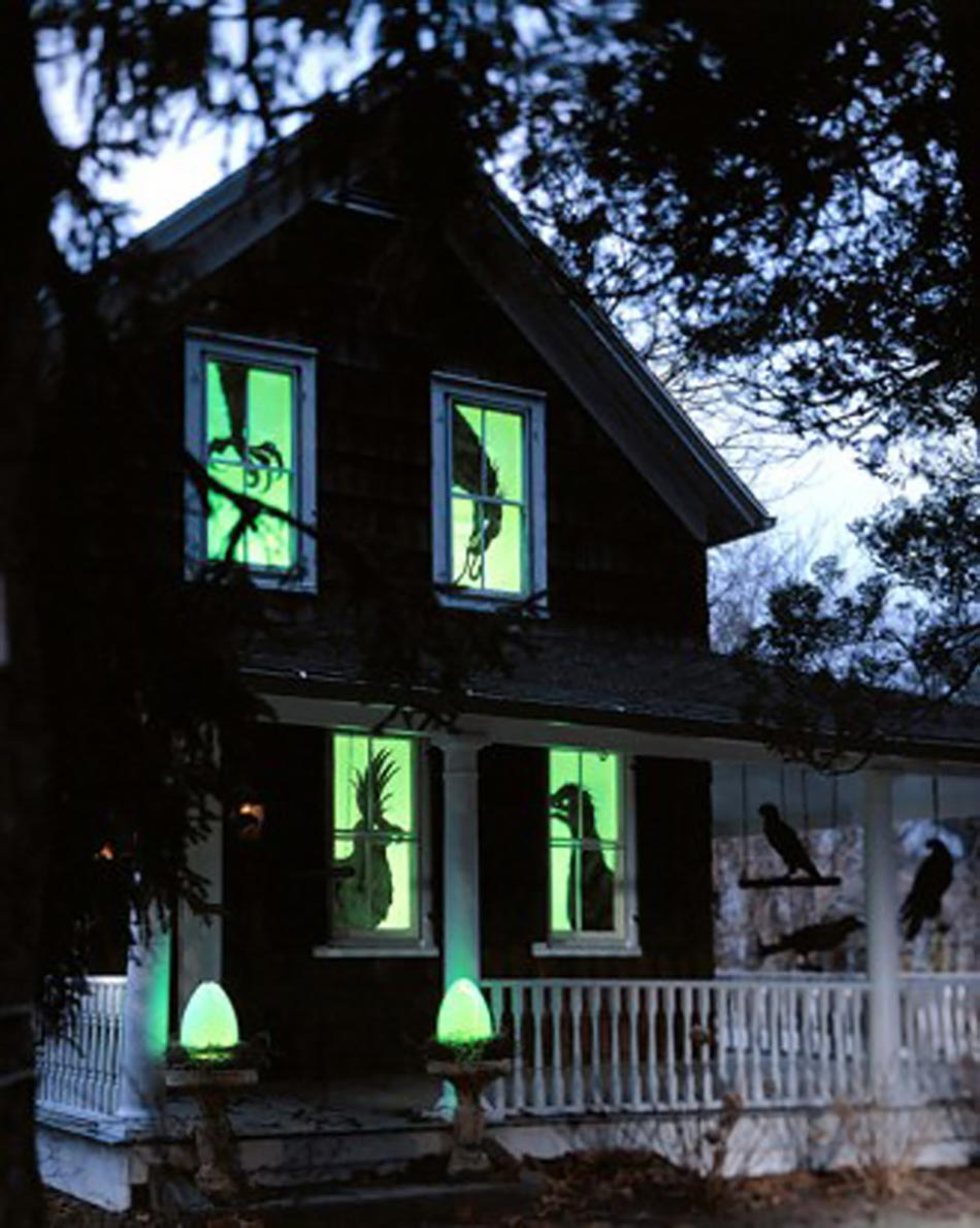 d coration halloween originale et cr ative design feria. Black Bedroom Furniture Sets. Home Design Ideas