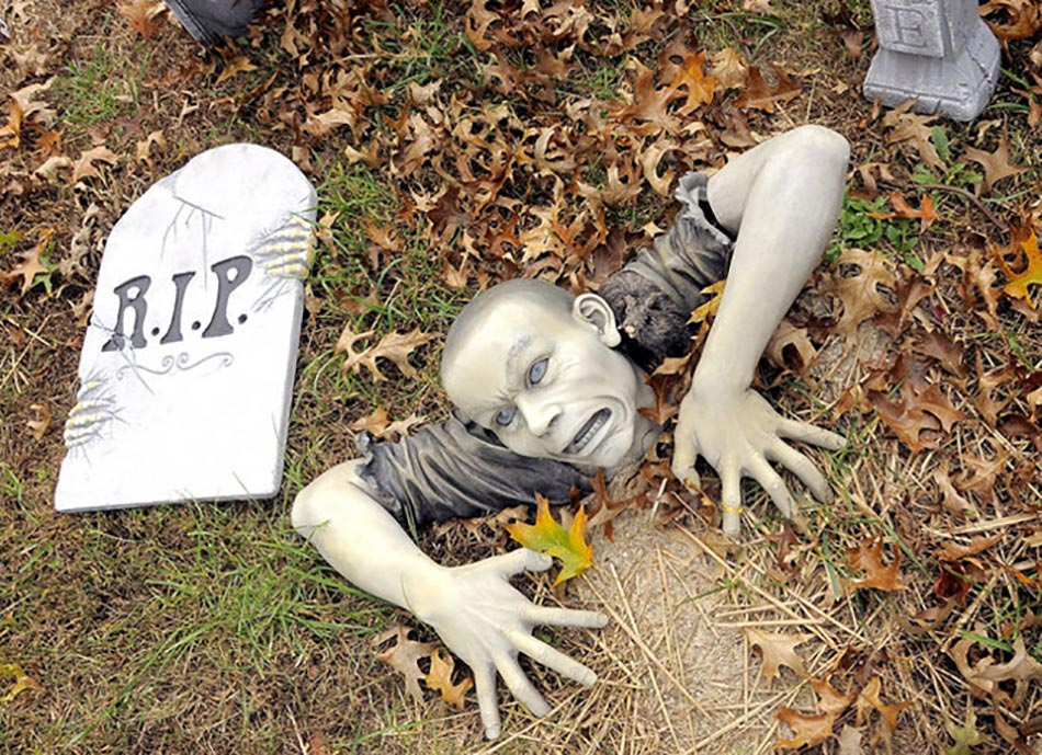 Deco jardin halloween halloween zombie decorations zombie d coration jardin - Idees deco halloween ...