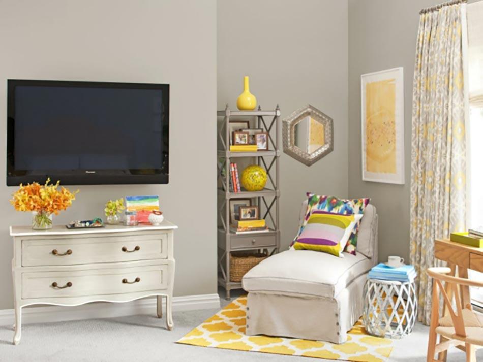 Le jaune pour une d coration int rieure joyeuse design feria for Deco sejour jaune