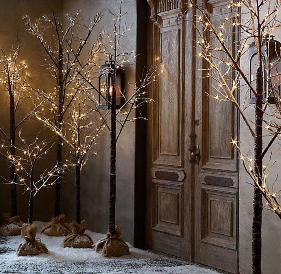 Belles inspirations pour r aliser une d coration d - Decorer une porte ...