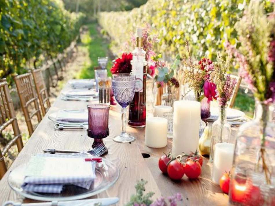 Une d co table attrayante une des conditions for Idee plat pour recevoir des amis
