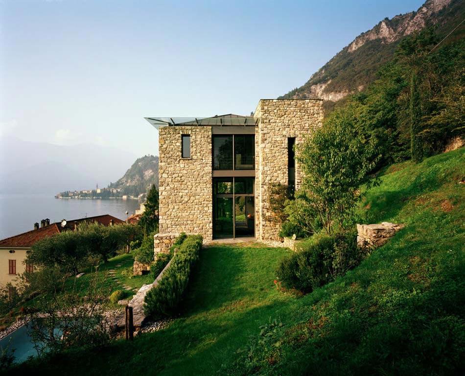 Belle demeure italienne au caract re clectique et cr atif situ e au bord de lac de c me - Demeure de charme dom architecture ...