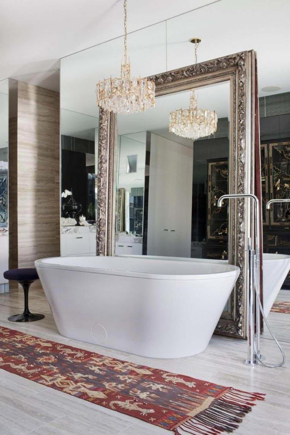 Salle De Bain Dans Une Chambre ~ personnaliser sa salle de bain design avec un look extravagant ou