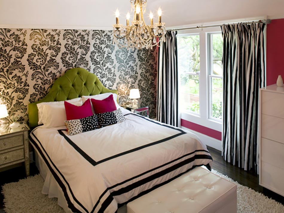 ambiance design moderne chambre dco femme - Deco Chambre Moderne Design
