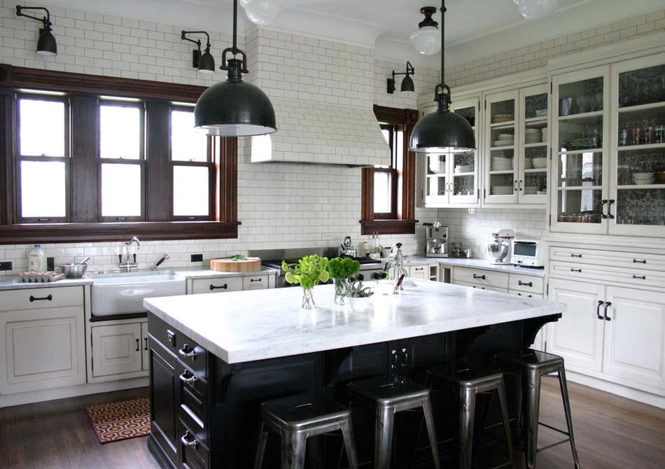 Couleurs agr able pour une cuisine d co moderne et for Deco cuisine classique