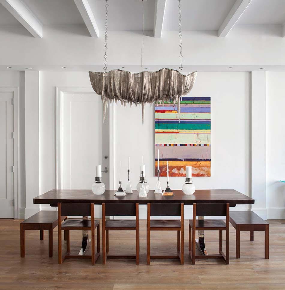 Chandelier design un accessoire ind modable plein de gr ce design feria - Deco salle a manger design ...