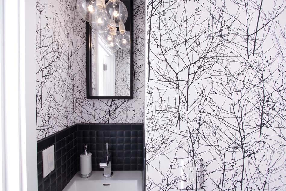 salle de bain papier peint cratif art - Salle De Bain Art Et Decoration