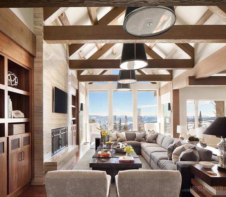Incroyable Magnifique Chalet Avec Très Belle Vue Panoramique, Au Design Et Décoration  Rustique Sympa