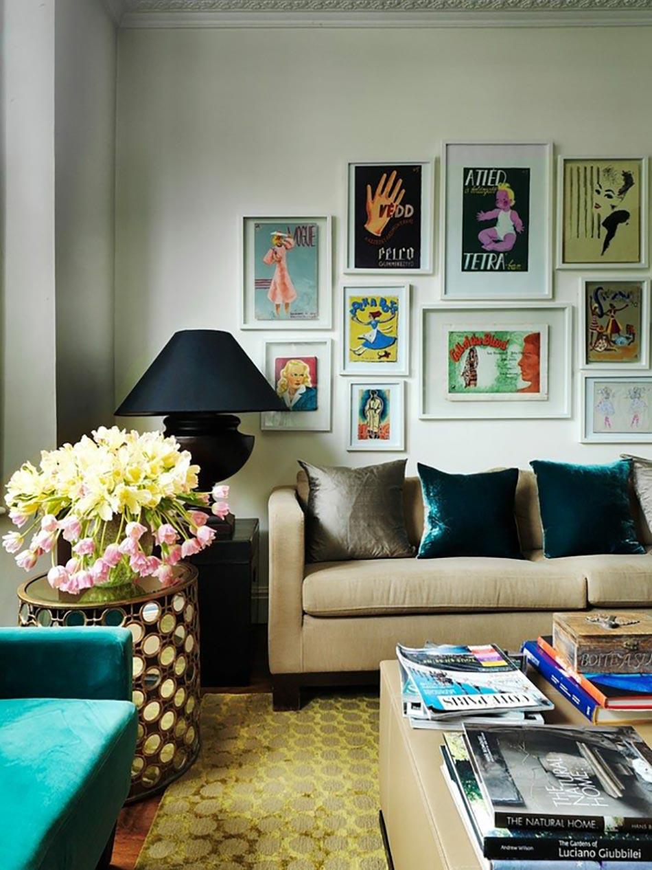 Id es d co pour un s jour personnalis et clectique for La decoration interieur