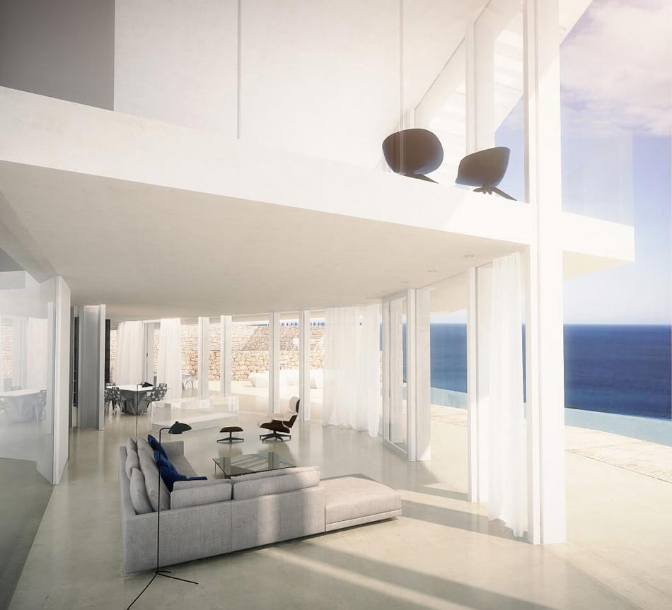 Magnifique maison d'architecte sur la côte espagnole