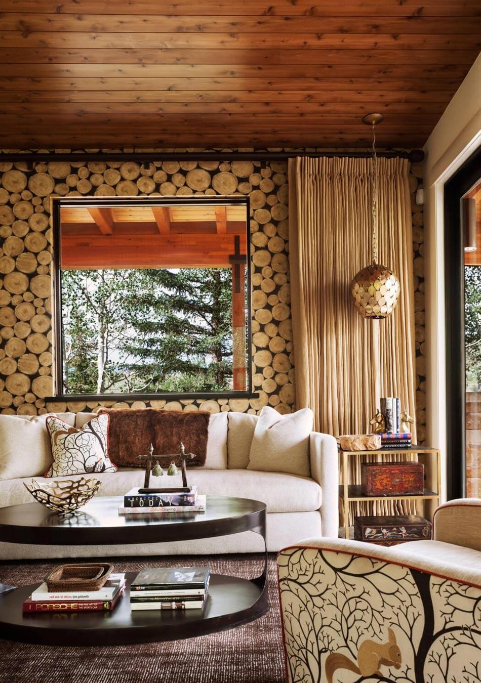 Magnifique maison de campagne au c ur de la nature verdoyante design feria - Interieur maison campagne ...