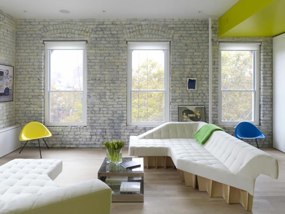 Ancien appartement t3 transform en un loft design for Chambre style loft