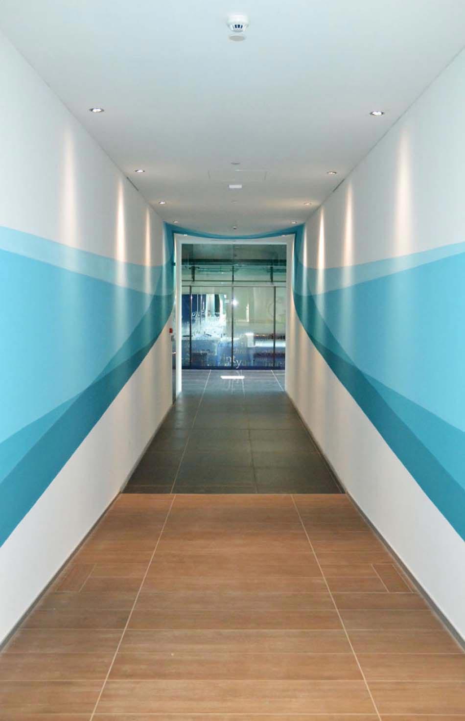 Decoration Creative Pour Des Murs En Constant Mouvement Par