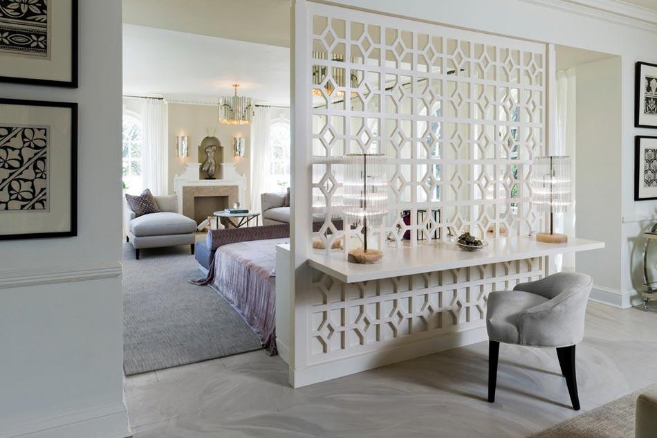 L agr able suite parentale au design moderne et personnel - Decorer sa chambre avec des photos ...