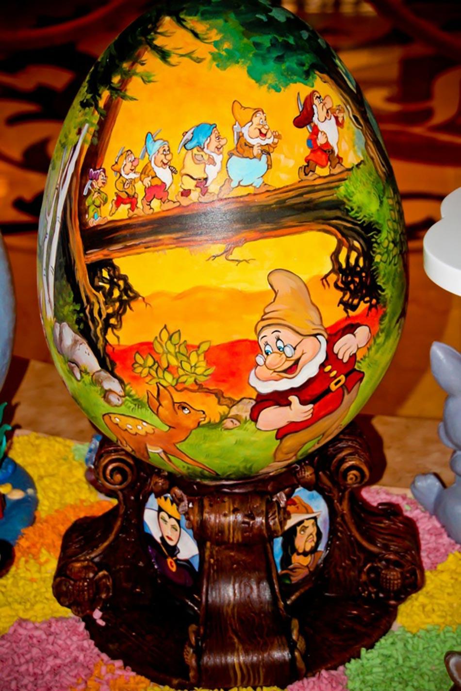 Ufs de p ques cr atifs l effigie des personnages disney - Quand ramasser les oeufs de paques ...