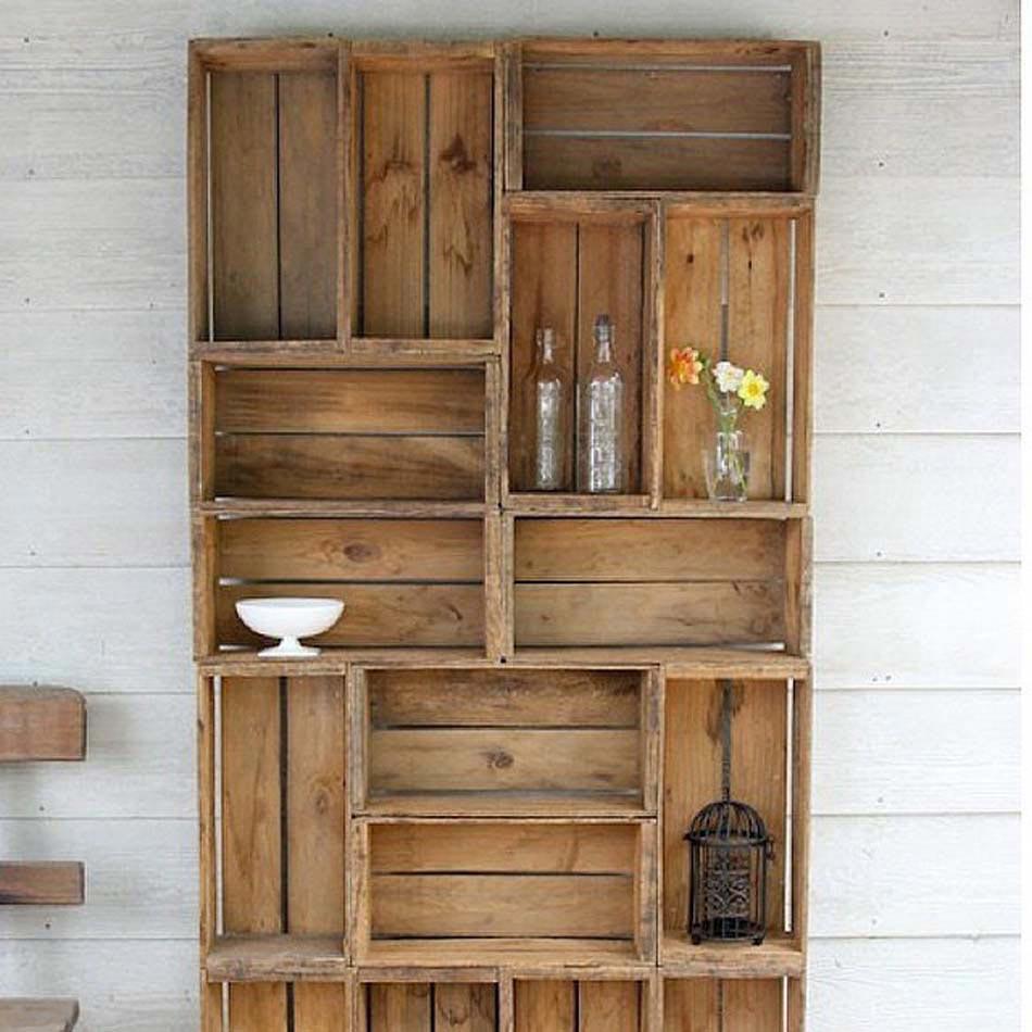 15 astuces d co pour une maison la fois jolie et for Deco en palet de madera
