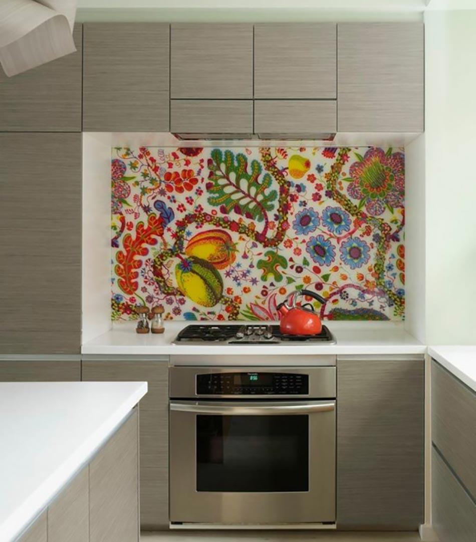 Cuisine la d coration printani re inspir e par les for Art et decoration cuisine