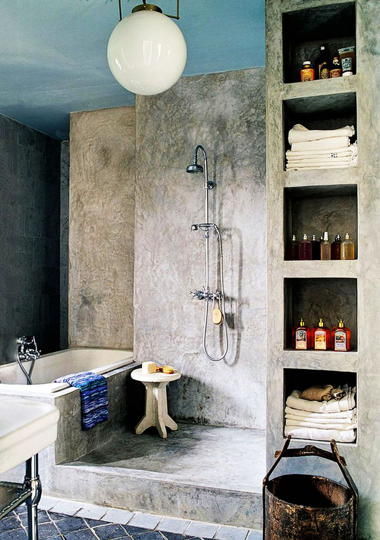 12 inspirations modernes et chics pour une belle douche design la maison design feria. Black Bedroom Furniture Sets. Home Design Ideas