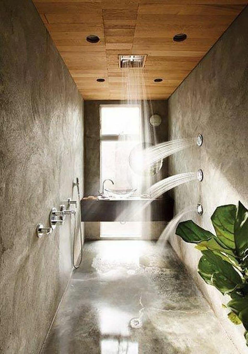 Salle De Bain Inspiration Spa ~ salle de bain d cor e par une douche design ultime design feria