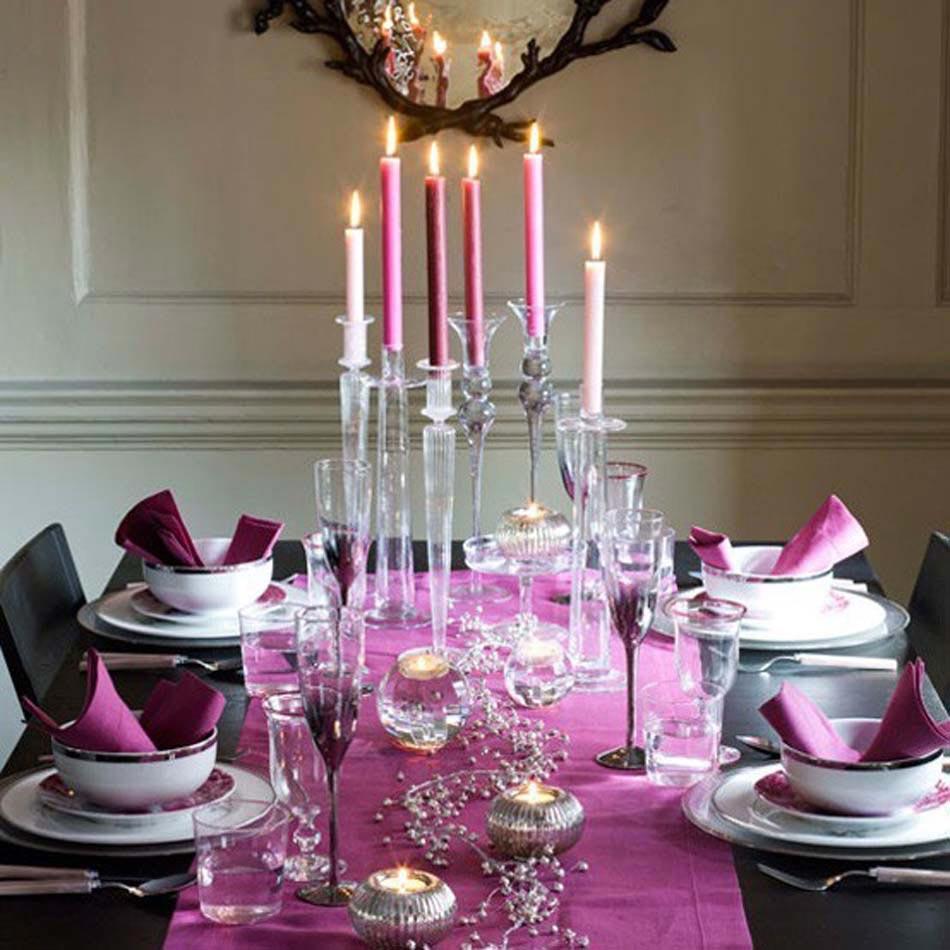 blanc noir fuchsia le mariage de ses trois couleurs apporte un ct lgant - Idee De Deco Pour Noel
