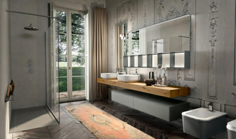 Am nagement salle de bain sign edon design design feria for Salle de bain style industriel