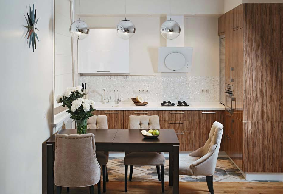 Petite cuisine cr ative aux influences modernes for Design petite cuisine