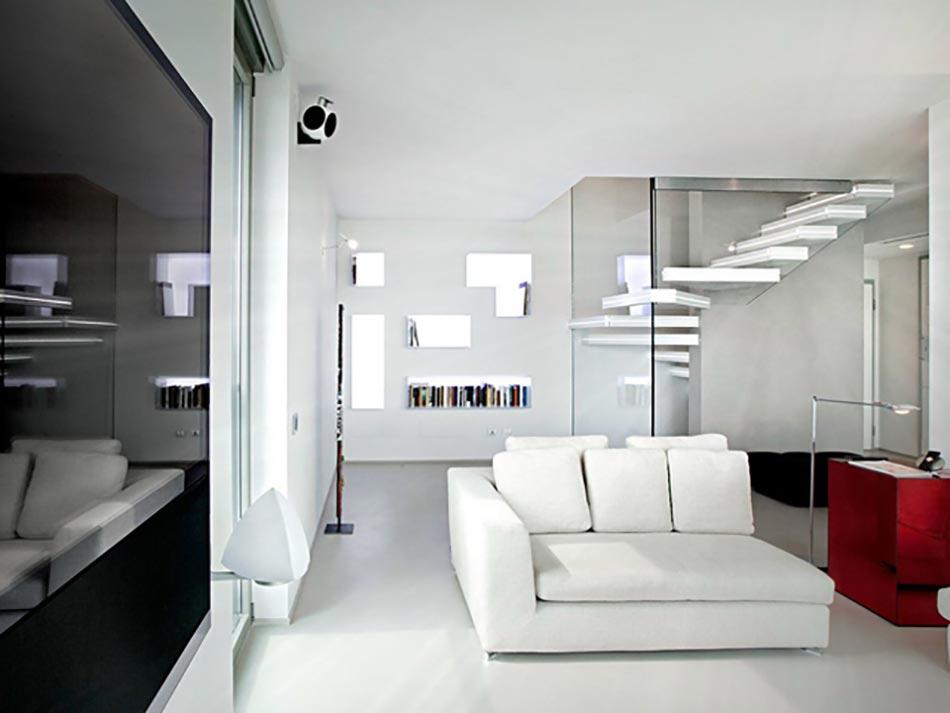 Incroyable Style Et Classe Soulignés Par Lu0027escalier Design Luxio