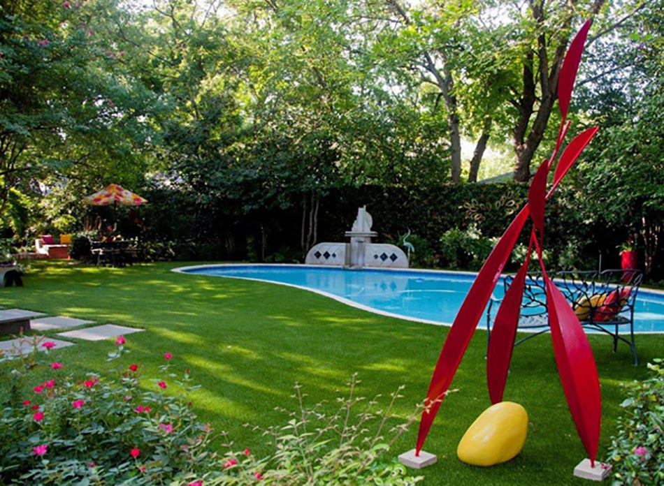 Bel am nagement ext rieur pour mieux profiter de l t design feria for Amenagement autour d une piscine