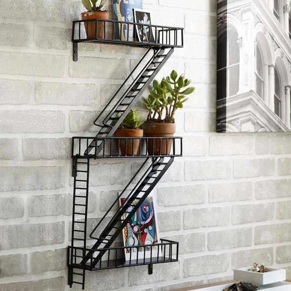 l tag re design un meuble original cr ant une ambiance sympa la maison design feria. Black Bedroom Furniture Sets. Home Design Ideas