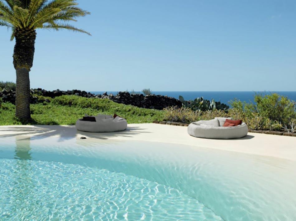Piscine luxe le c ur des espaces outdoor design feria - Villa de vacances exotiques island views ...